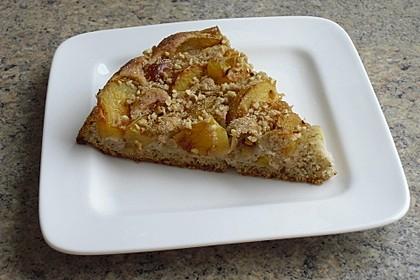 Zwetschgenkuchen mit Mandeln 2