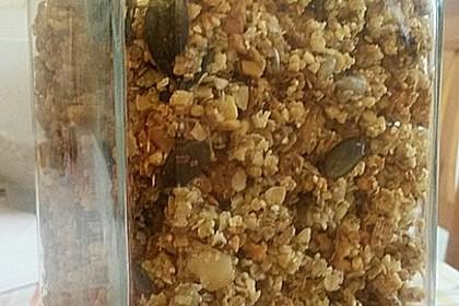 Müsli - Mischung gebacken 1