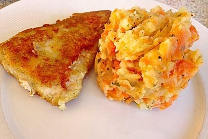 Kartoffel - Möhren - Püree 1