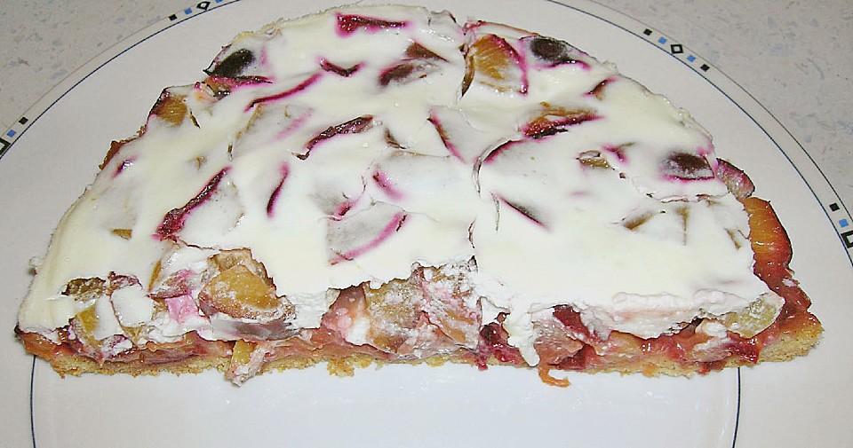 Zwetschgen Schmand Kuchen Von Schwanchen1 Chefkoch De