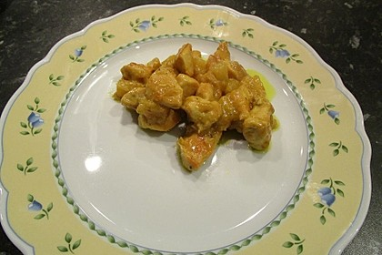 Ananas - Hühnchen - Curry 10
