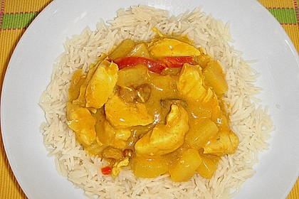 Ananas - Hühnchen - Curry 2