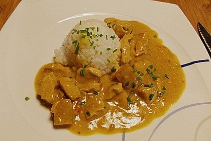 Ananas - Hühnchen - Curry 4