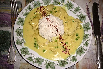 Ananas - Hühnchen - Curry 3