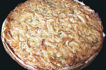 Sauerkraut-Ananas-Quiche 2