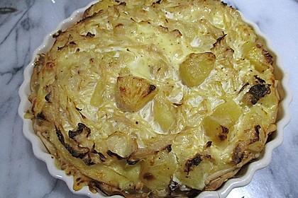 Sauerkraut-Ananas-Quiche 4