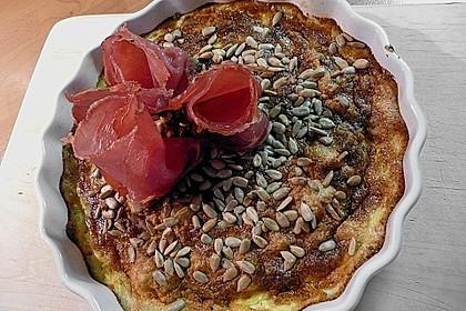Zucchini - Omelett