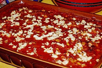 Hackfleischbällchen mit Schafskäse in Tomatensauce 25