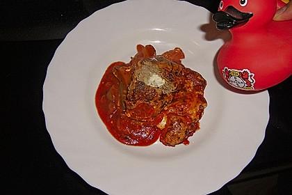 Hackfleischbällchen mit Schafskäse in Tomatensauce 40
