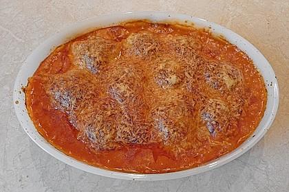 Hackfleischbällchen mit Schafskäse in Tomatensauce 69