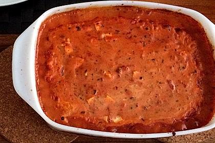 Hackfleischbällchen mit Schafskäse in Tomatensauce 49