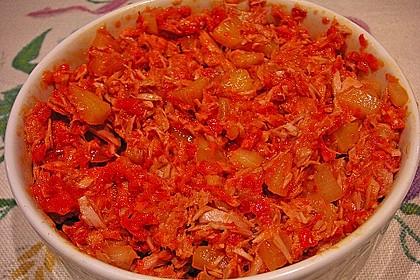 Pikanter schneller Thunfischsalat 2