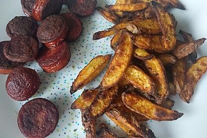 Fettarme Kartoffelspalten aus dem Ofen 71