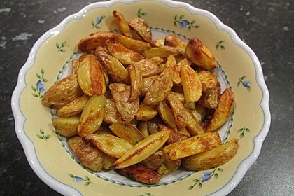 Fettarme Kartoffelspalten aus dem Ofen 43