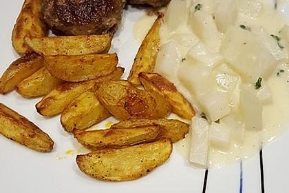 Fettarme Kartoffelspalten aus dem Ofen 49