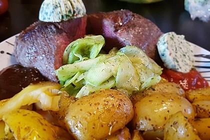 Fettarme Kartoffelspalten aus dem Ofen 31