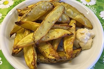 Fettarme Kartoffelspalten aus dem Ofen 17