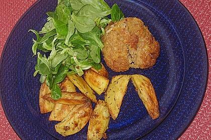 Fettarme Kartoffelspalten aus dem Ofen 61