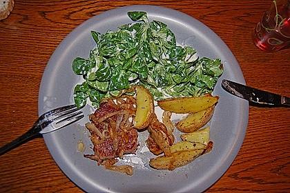 Fettarme Kartoffelspalten aus dem Ofen 76