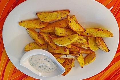 Fettarme Kartoffelspalten aus dem Ofen 53