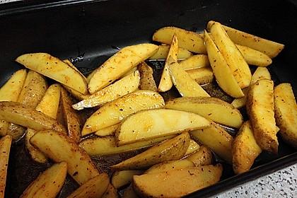 Fettarme Kartoffelspalten aus dem Ofen 54