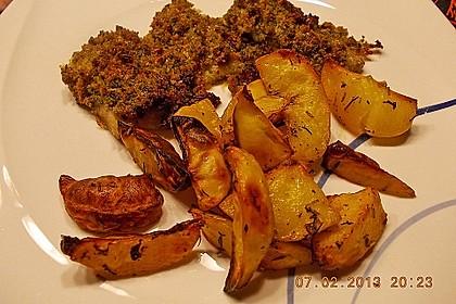Fettarme Kartoffelspalten aus dem Ofen 38