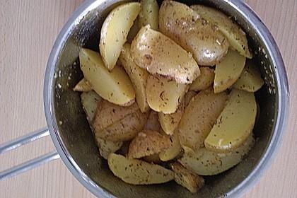 Fettarme Kartoffelspalten aus dem Ofen 51