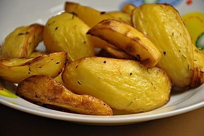 Fettarme Kartoffelspalten aus dem Ofen 37