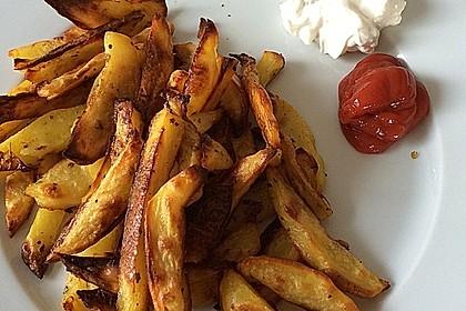 Fettarme Kartoffelspalten aus dem Ofen 41