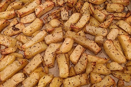 Fettarme Kartoffelspalten aus dem Ofen 19
