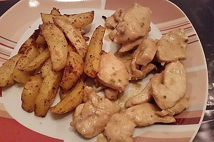 Fettarme Kartoffelspalten aus dem Ofen 57