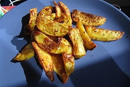 Fettarme Kartoffelspalten aus dem Ofen 24