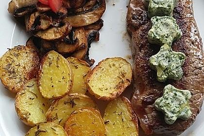 Fettarme Kartoffelspalten aus dem Ofen 70