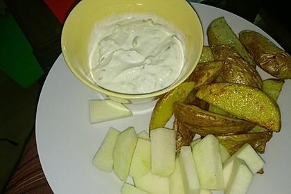Fettarme Kartoffelspalten aus dem Ofen 67