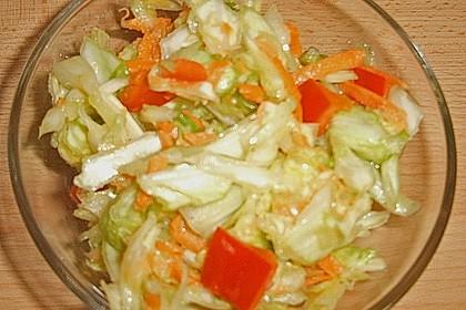 Bunter Weißkohlsalat (Bild)