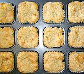 Apfelmuffins mit Zimtkruste (Bild)