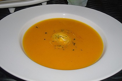 Exotische Kürbis - Apfelsuppe 1