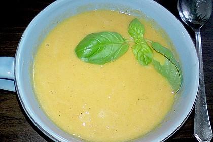 Kürbis-Möhren Suppe 10