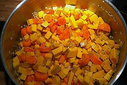 Kürbis-Möhren Suppe 17