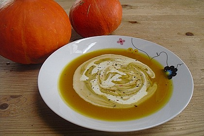 Kürbis-Möhren Suppe 11