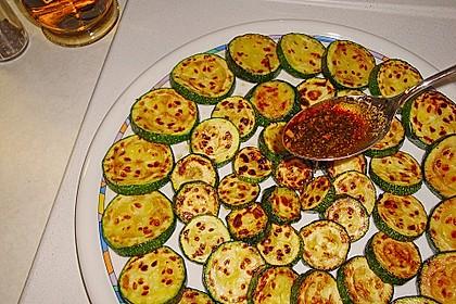 Zucchini - Carpaccio (Bild)