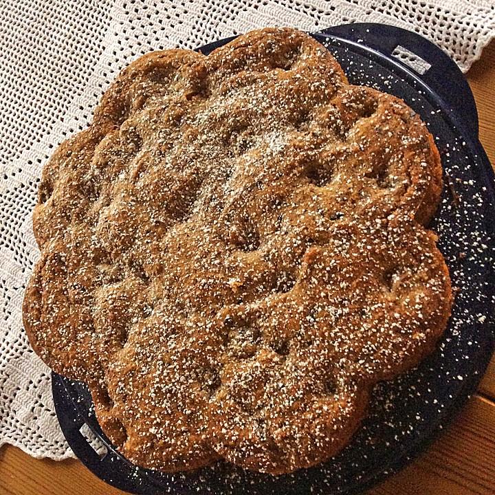 Schokoladen Kirschkuchen Mit Mandeln Von Loebea Chefkoch De