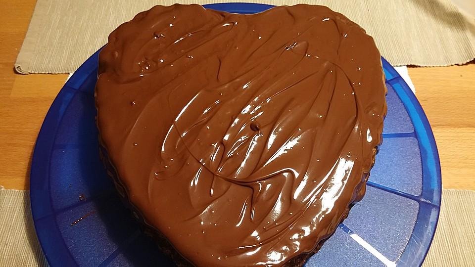 Schokoladen Herzkuchen Von Trin1986 Chefkoch De