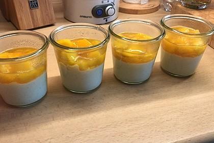 Orangen-Panna cotta (Bild)
