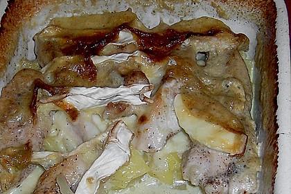 Geflügelauflauf mit Camemberthaube 1