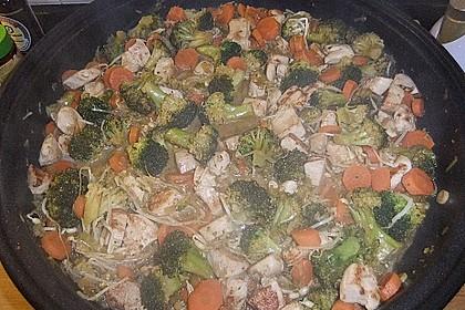 Jockels Vier - Gemüsepfanne mit Hähnchen 2