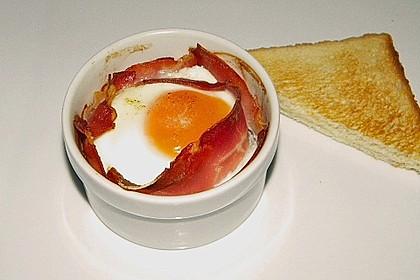 Frühstücksei im Schinkenmantel 17
