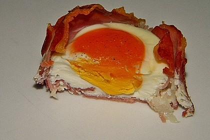 Frühstücksei im Schinkenmantel 22