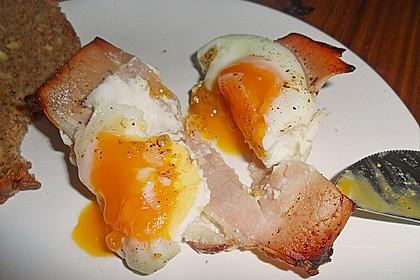 Frühstücksei im Schinkenmantel 29