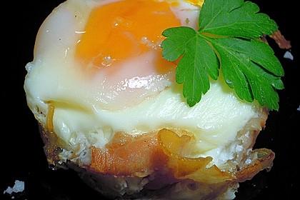 Frühstücksei im Schinkenmantel 20